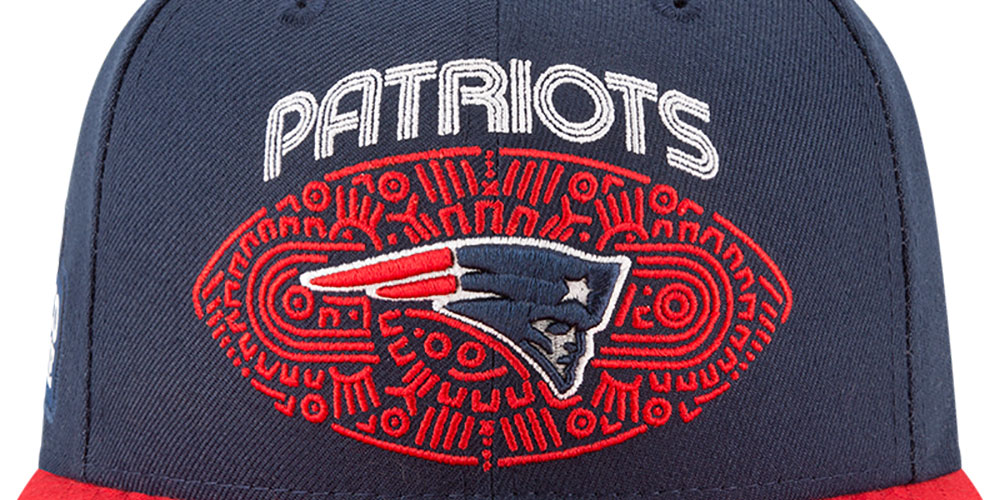 c569aa65fa7fb NFL en México 2017 - Las gorras para el partido entre Patriots y Raiders •  Primero y Diez
