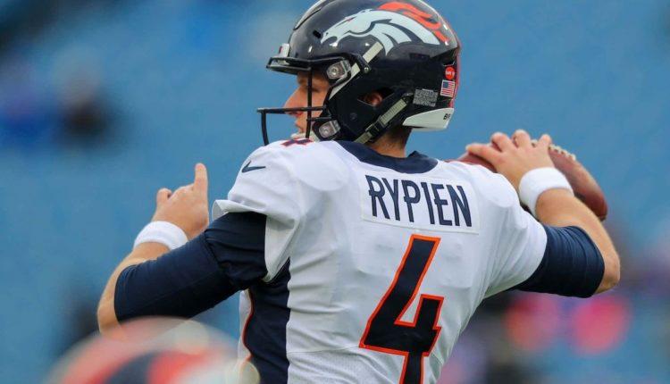 Que Esperar De Brett Rypien En Su Primera Titularidad Con Los Broncos Primero Y Diez
