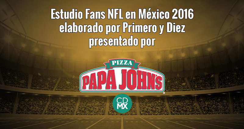 Estudio Fans NFL en Mexico